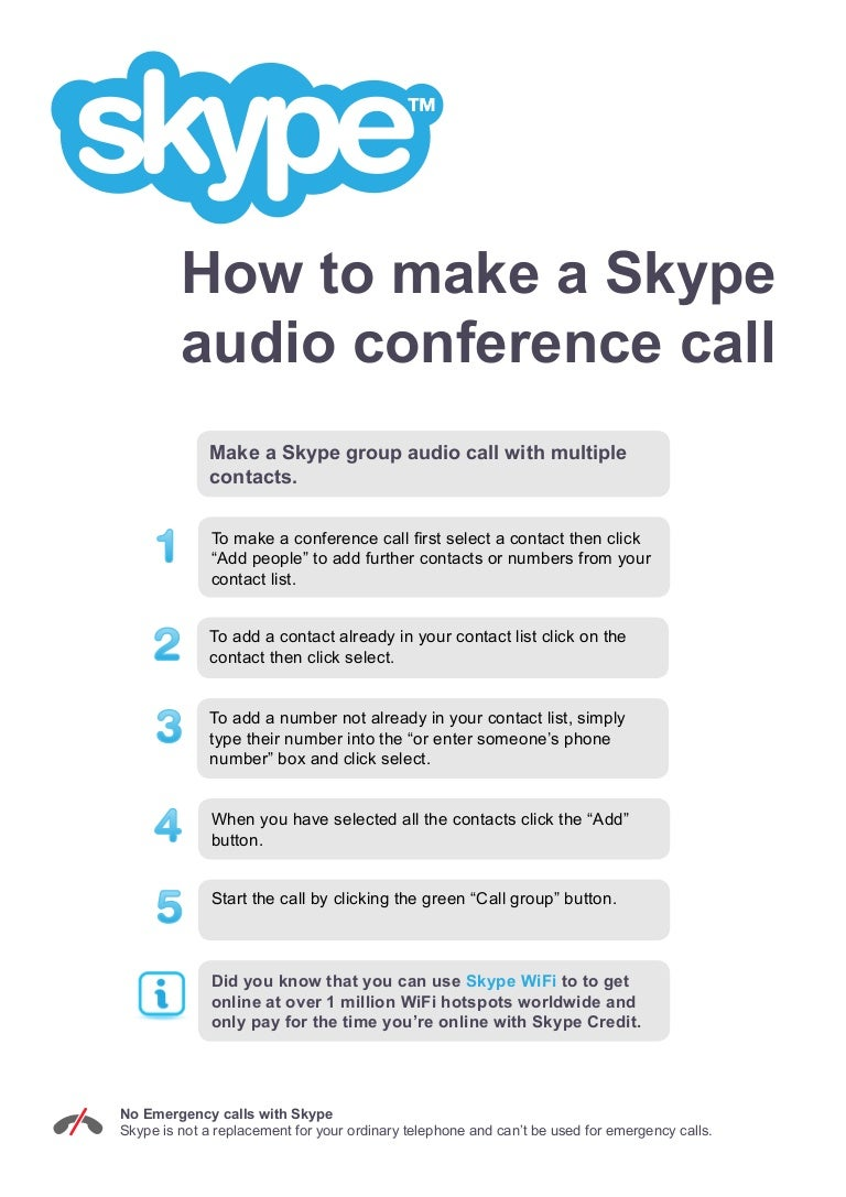 How to make a conference in Skype (Skype) 12