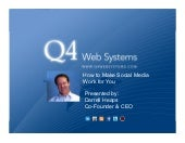 How to make social media work for Investor Relations - January 31, 2012