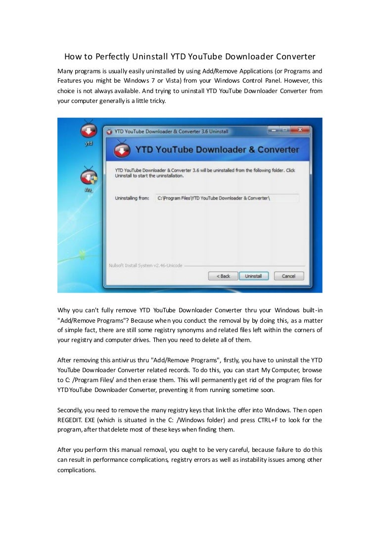 ytd youtube downloader for windows 7