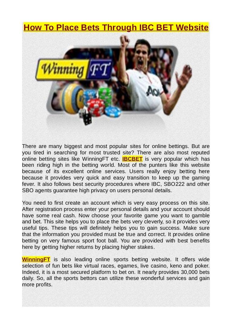 Sbo222 betting sbr betting forum nba live