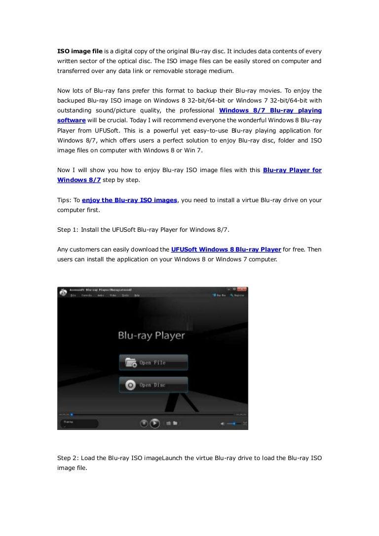 How to play blu ray iso image files on windows 8,windows 7,windows xp…