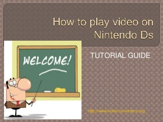 How to play video on nintendo ds