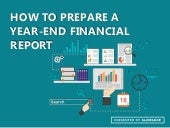 How to Prepare a Yearend Financial Report