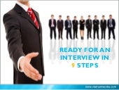 How To #Prepare For An #Interview