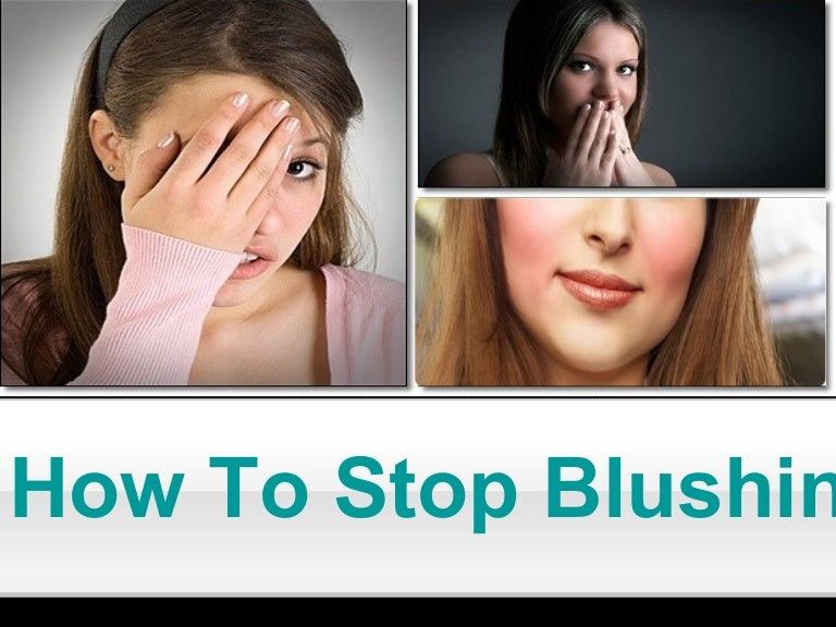 How To Stop Blushing During A Presentation