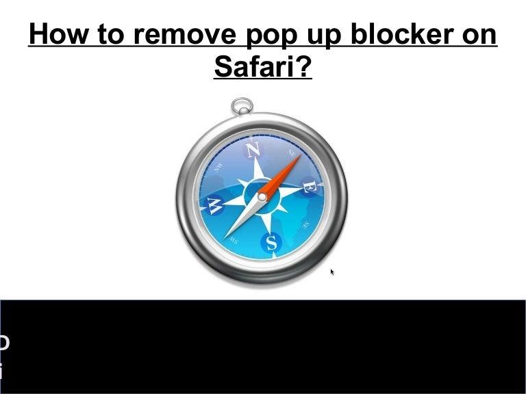 how to turn on pop up blocker safari