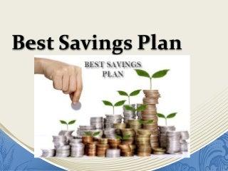 best interest on savings