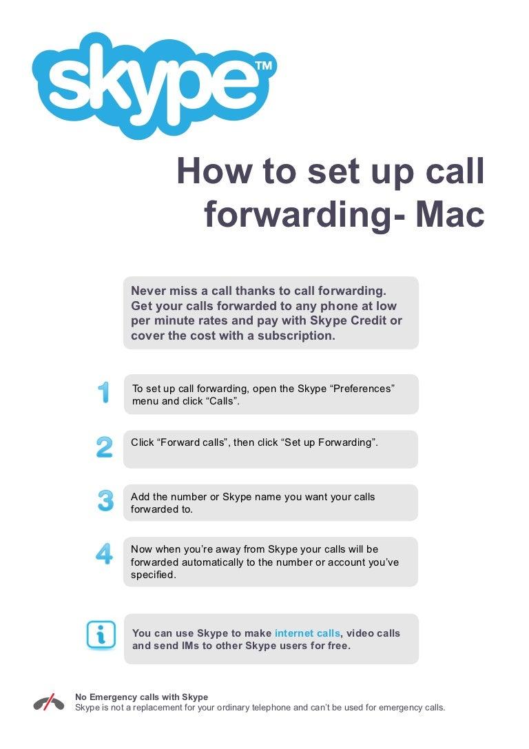 How to make call forwarding