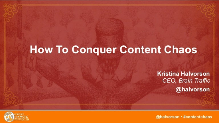 How to Conquer Content Chaos