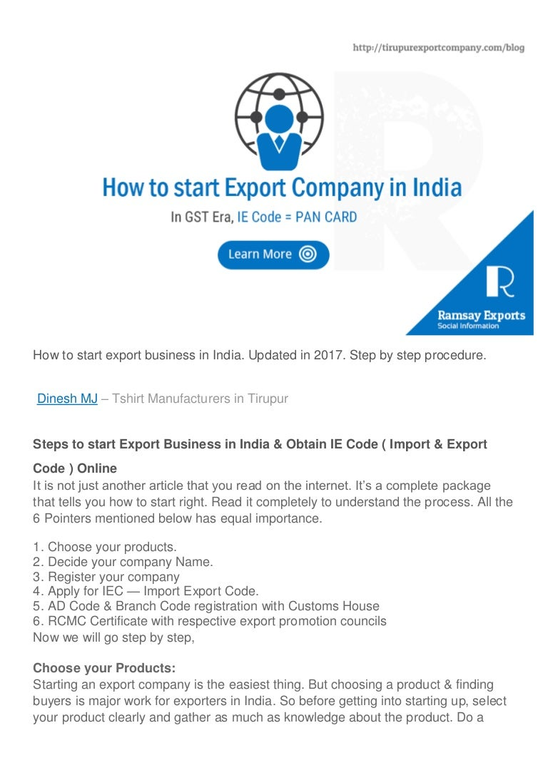 How to Start an Export Business How to Start an Export Business new foto