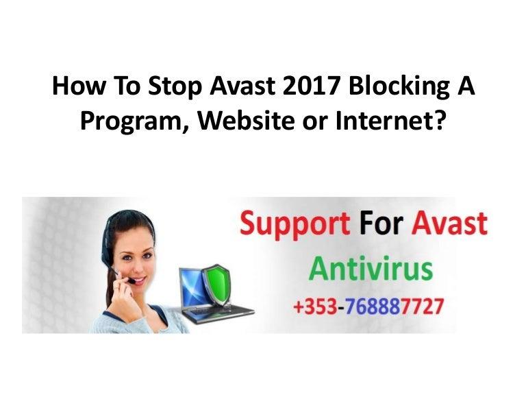 avast antivirus blocking websites