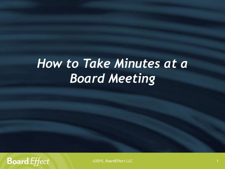 Dating board minutes