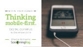 SEO in your hands: Thinking mobile first (Digital Olympus December '16)