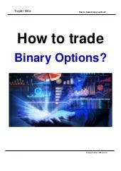 Binary options 301