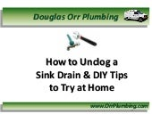 Miami Plumber Shares How to Unclog a Sink Drain Easily