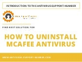 How To Uninstall McAfee Antivirus for Windows OS – A Brief Guide!