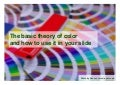 How to use color in you slide