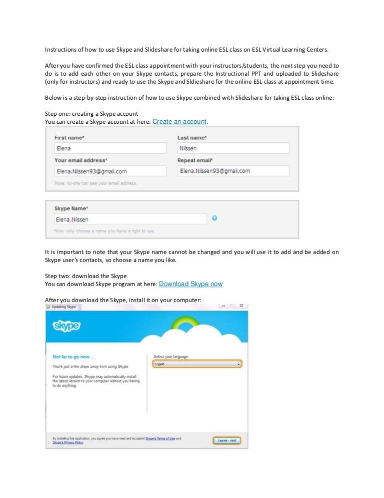 How To Use Slideshare And Skype