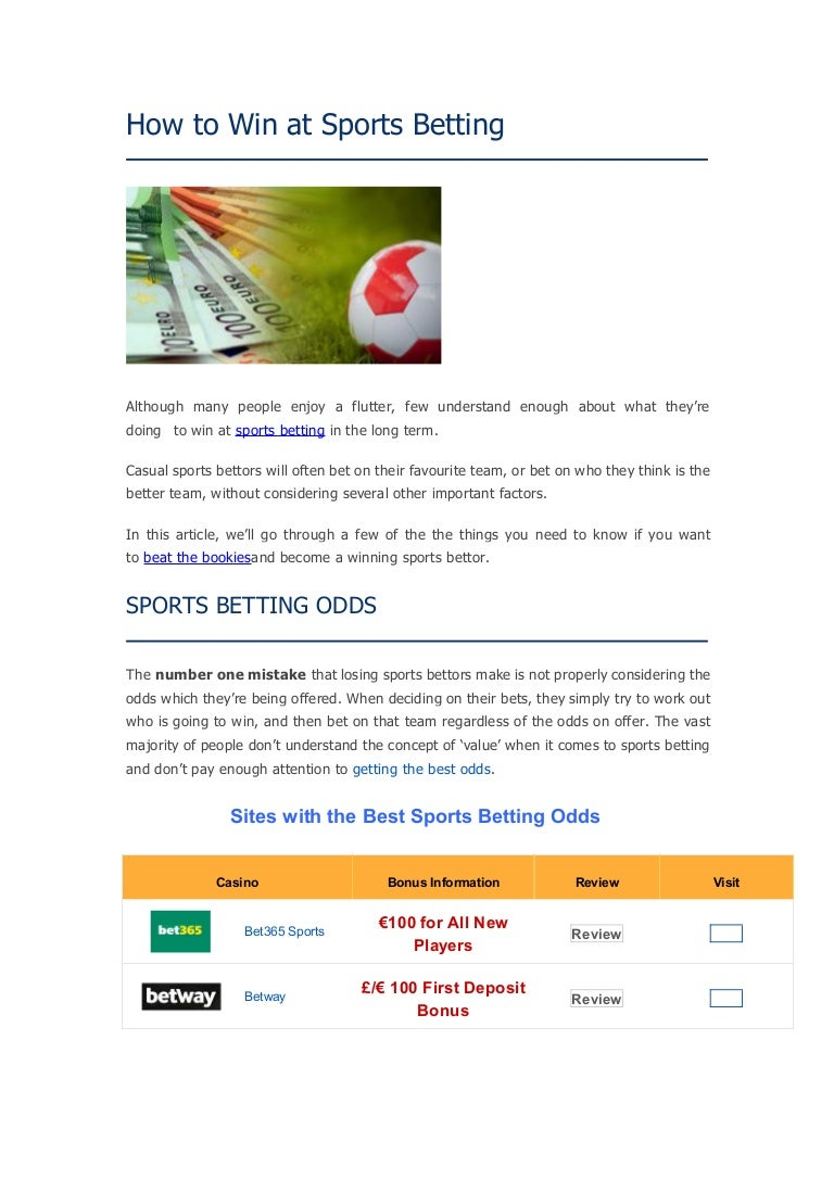 Things people bet on uk horse betting explained meaning
