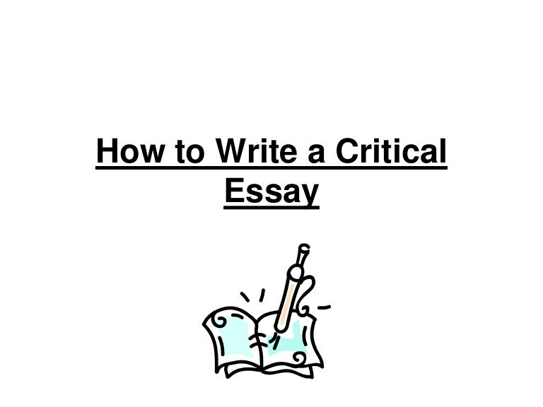 sample of a critical essay