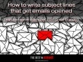 How to write subject lines that get emails opened (with awesome examples from great brands!)