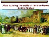 How Your Jericho Walls  Come Down