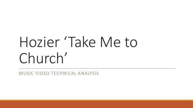 Hozier Take Me To Church