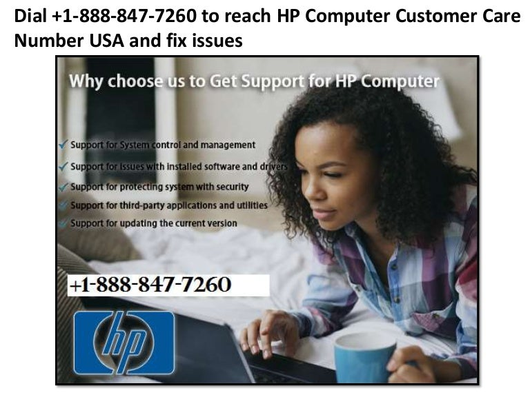 Hp computer customer care number usa +1-888-847-7260