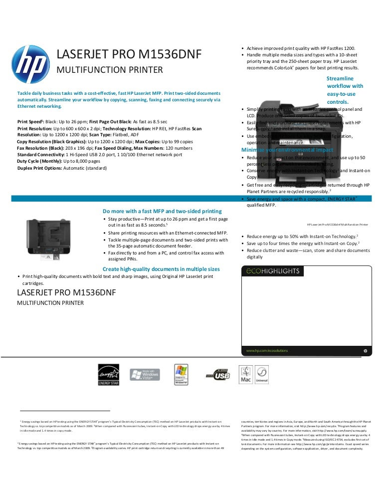 hp 1536dnf driver linux