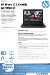 Data Sheet - HP Z440 Workstation