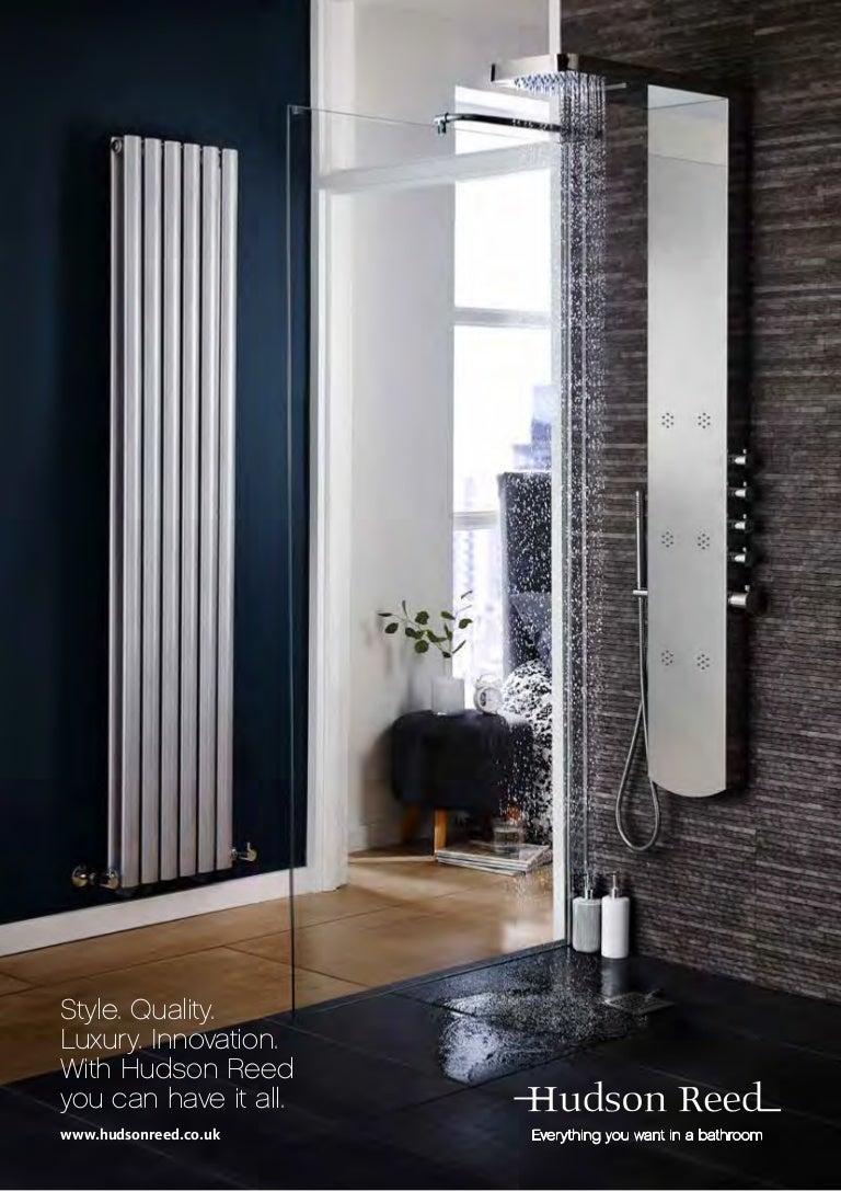 Hudson Reed Heated Towel Rails Tall Marquis Towel Rail