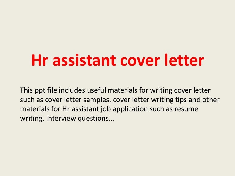 Custom Writing at $10 - cover letter for job application in hr