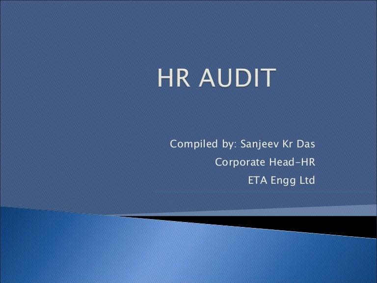 Hr Audit Checklist Template. final audit report audit of the human ...