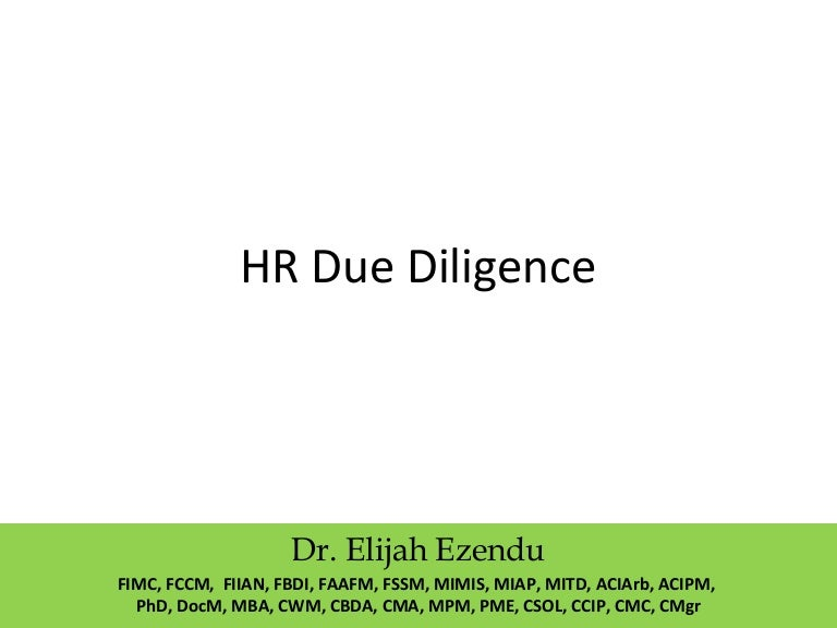 HR merger and acquisition playbook