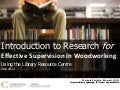 HRM 1130 - Effective Supervision - Conestoga College Information Literacy Session