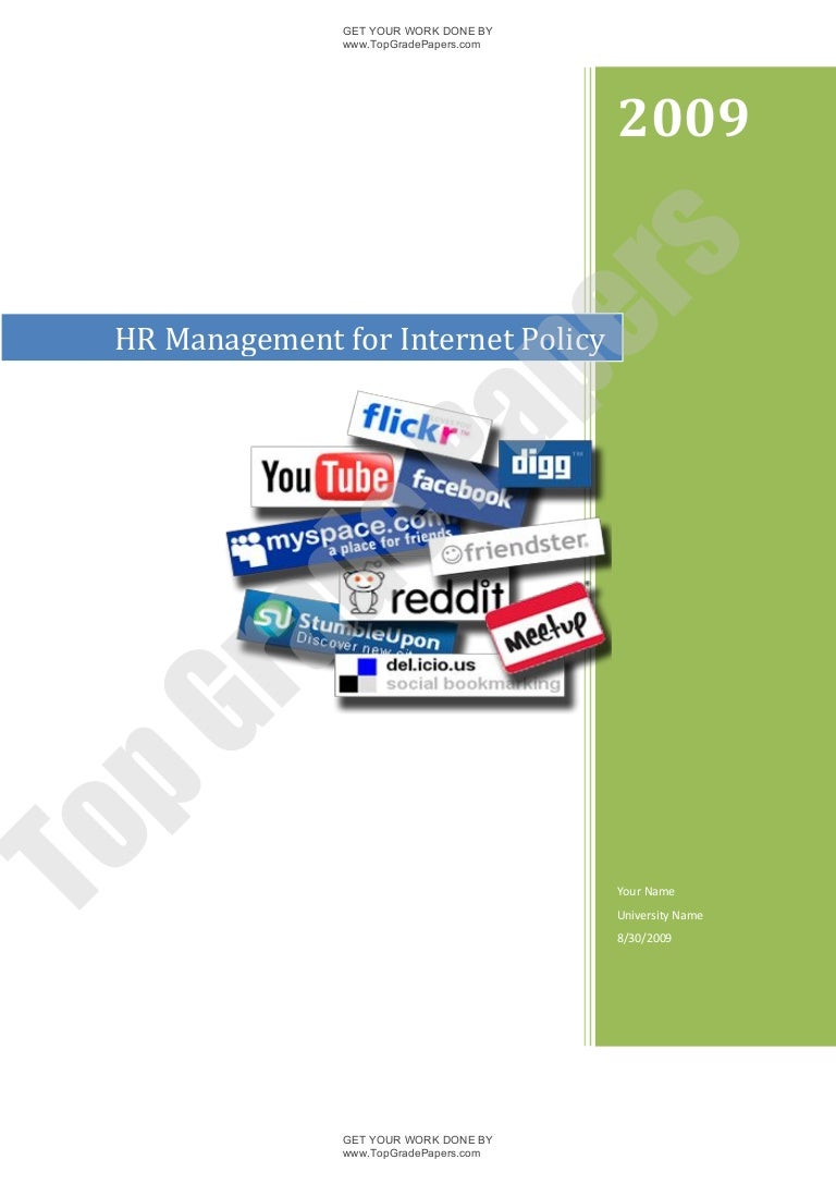 hr management for internet policy academic essay assignment t