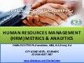 HRM Metrics and Analytics