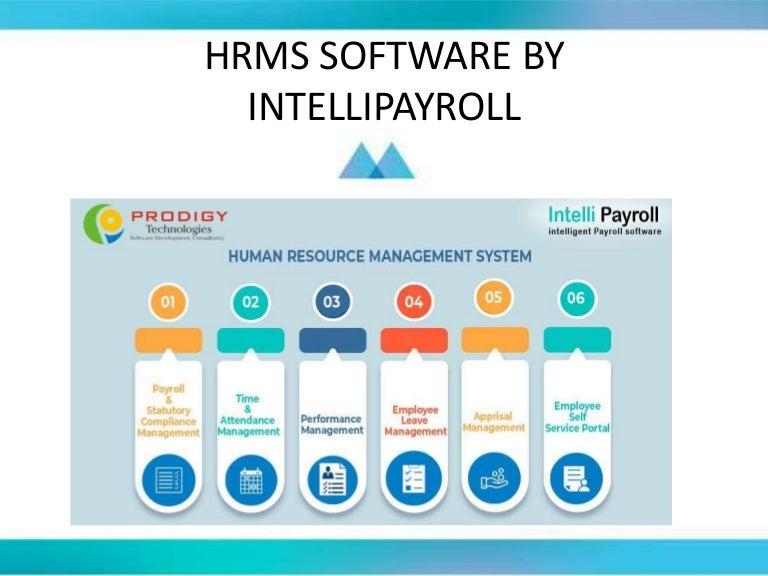 HRMS Software - IntelliPayroll