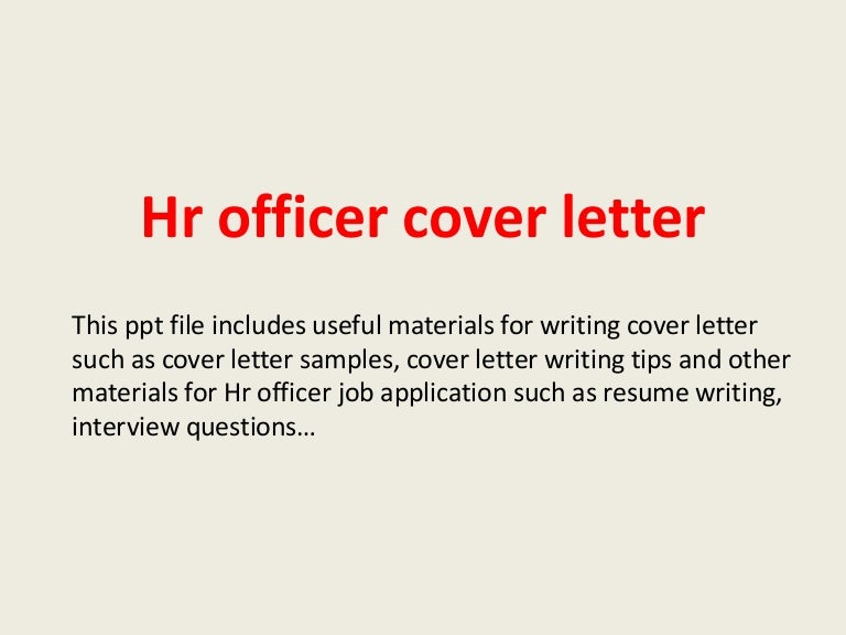 Hr officer cover letter hrofficercoverletter 140223025754 phpapp02 thumbnail 4gcb1393124710 yelopaper Choice Image
