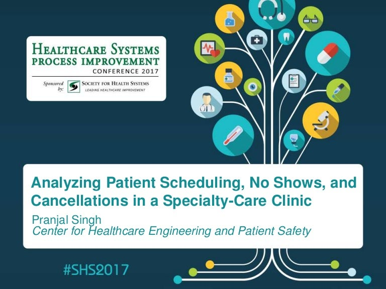 Analyzing Patient Scheduling, No Shows, and Cancellations in