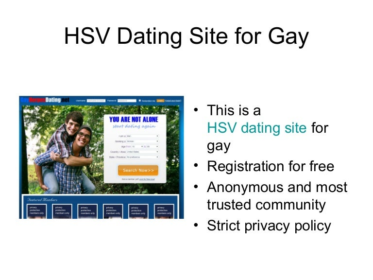 Anonymous gay dating sites