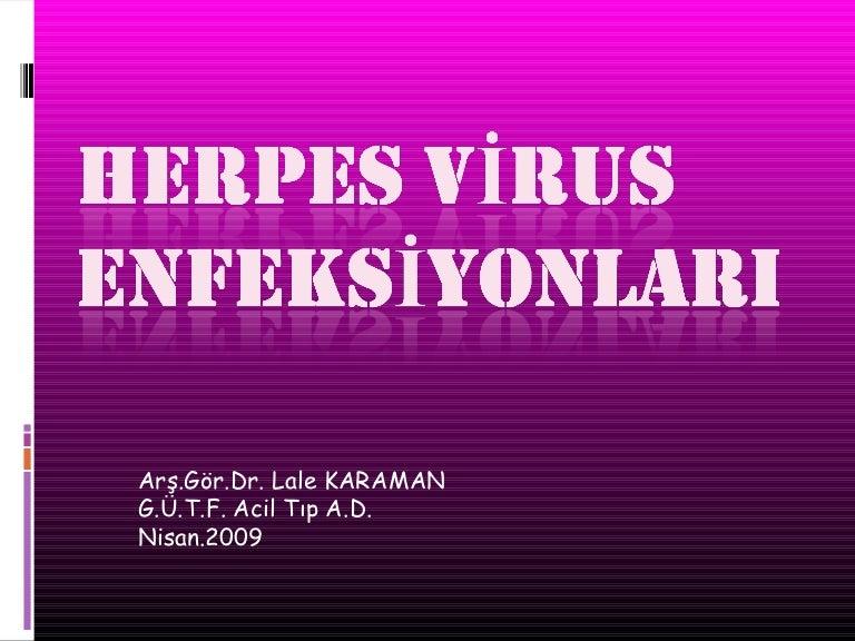 A herpesz esetében a szűrés legalább olyan fontos, mint a tüneti kezelés