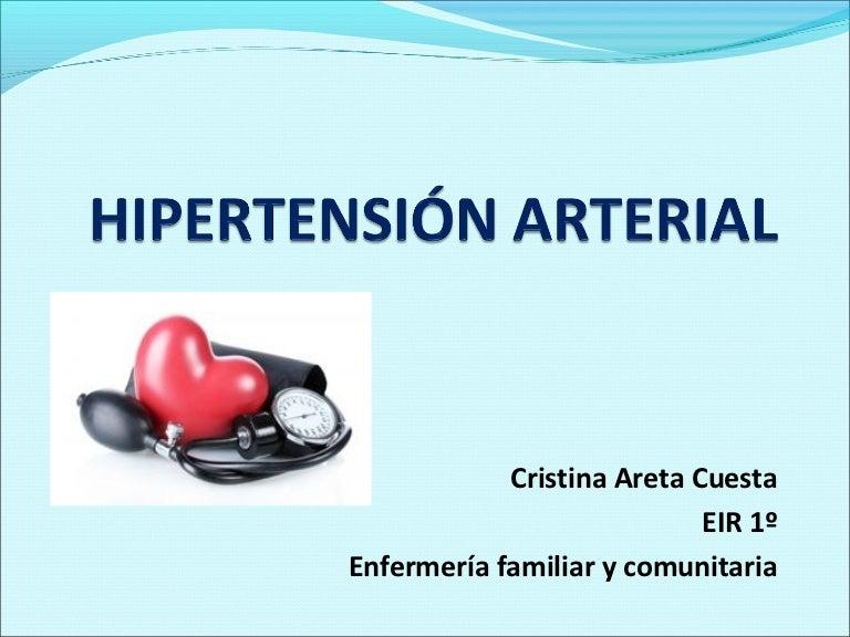 Gestión ineficaz de la salud propia relacionada con los signos de hipertensión.