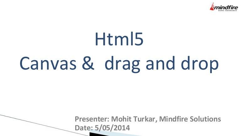 Html5 Canvas-Drag-Drop