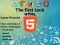 Html5 first look by aj.Ball