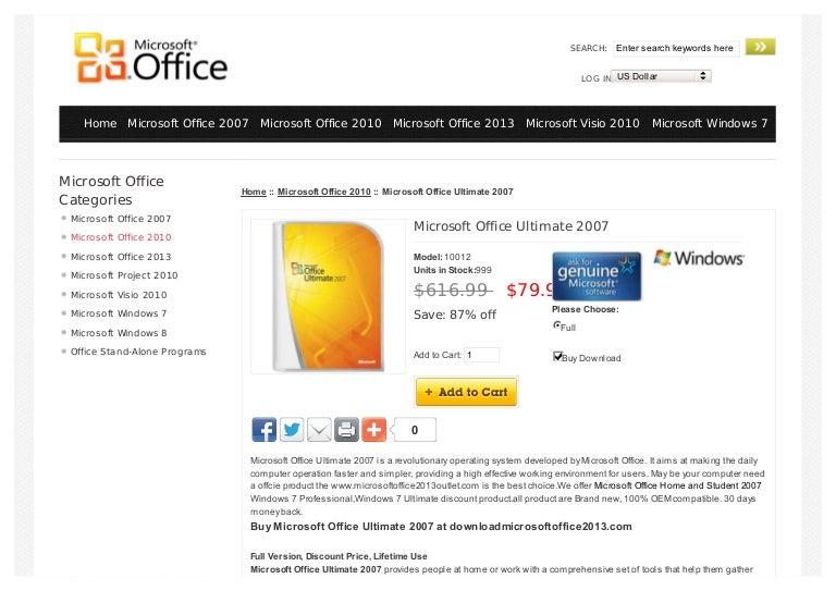 Msoffice 2007 Ultimate discount width=