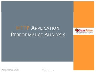 HTTP Application Performance Analysis