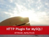 HTTP Plugin for MySQL!