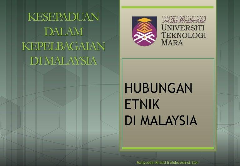 Ctu555 Sejarah Malaysia Kesepaduan Dalam Kepelbagaian Di Malaysia