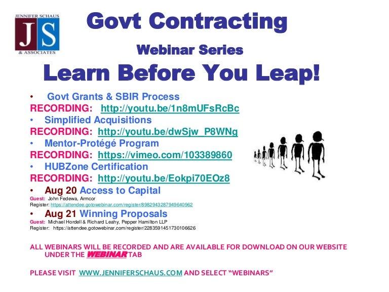 Fed Gov Con Hubzone Certification